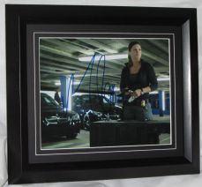 "A895GCFF GINA CARANO - ""FAST AND FURIOUS 6"" AUTHENTIC SIGNED"
